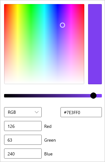 Color Picker Windows Uwp Applications Microsoft Docs