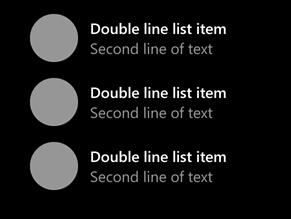 Double line