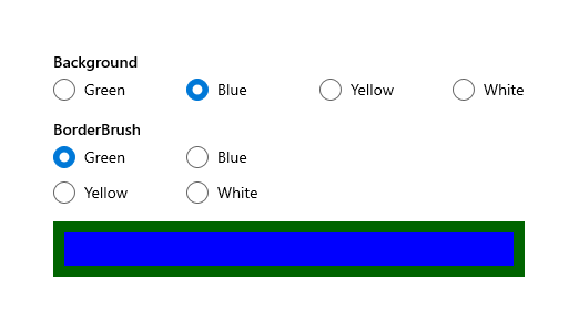 Guidelines for radio buttons - Windows UWP applications | Microsoft Docs