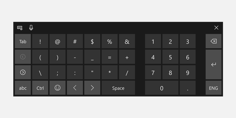 Use Input Scope To Change The Touch Keyboard Uwp App Developer