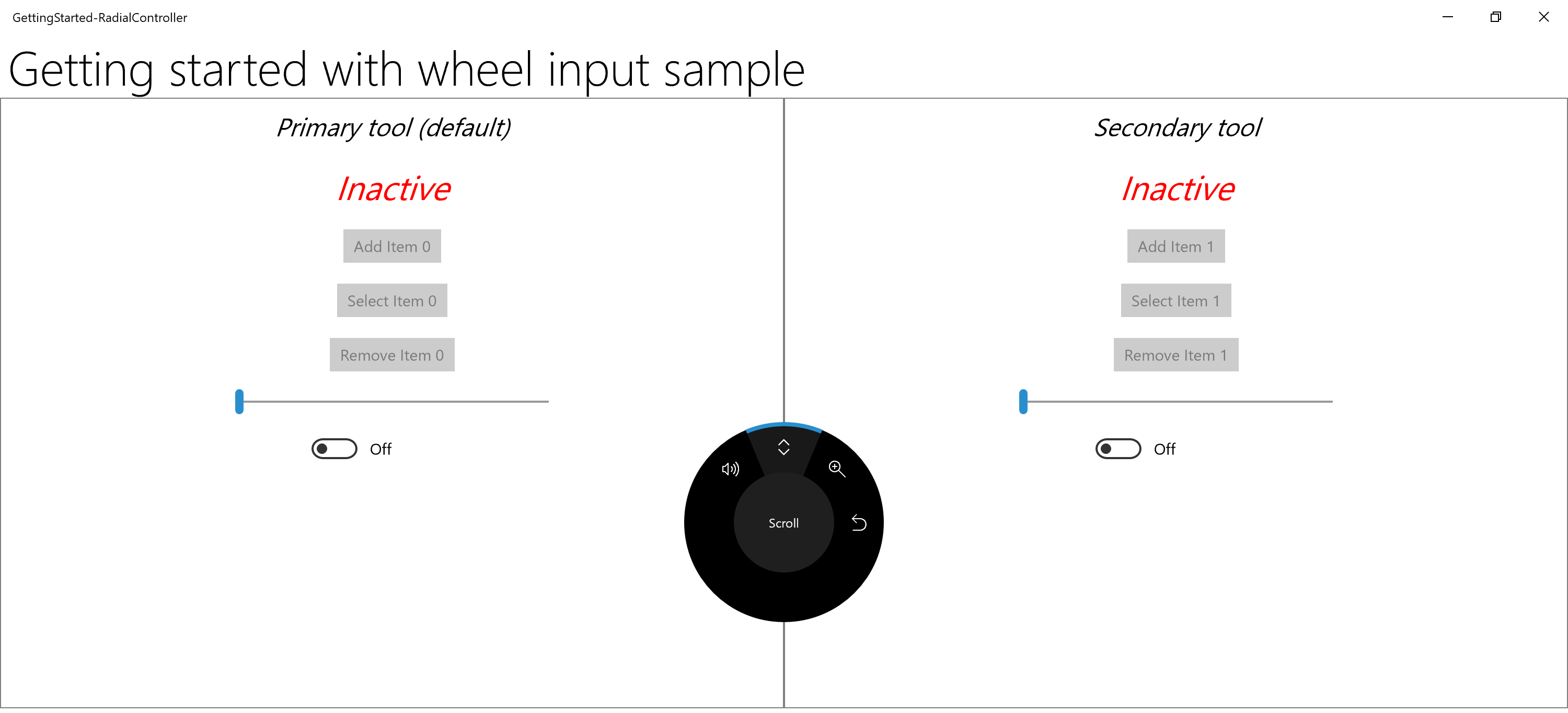Support The Surface Dial And Other Wheel Devices In Your Uwp App Dvr Block Diagram 3d Printer Projector On Screen Radialcontroller