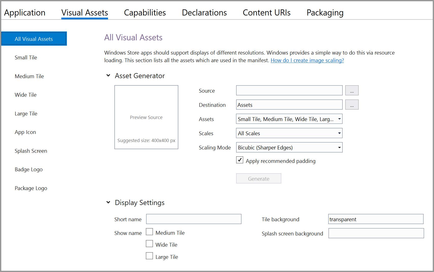 App icons and logos - Windows UWP applications | Microsoft Docs