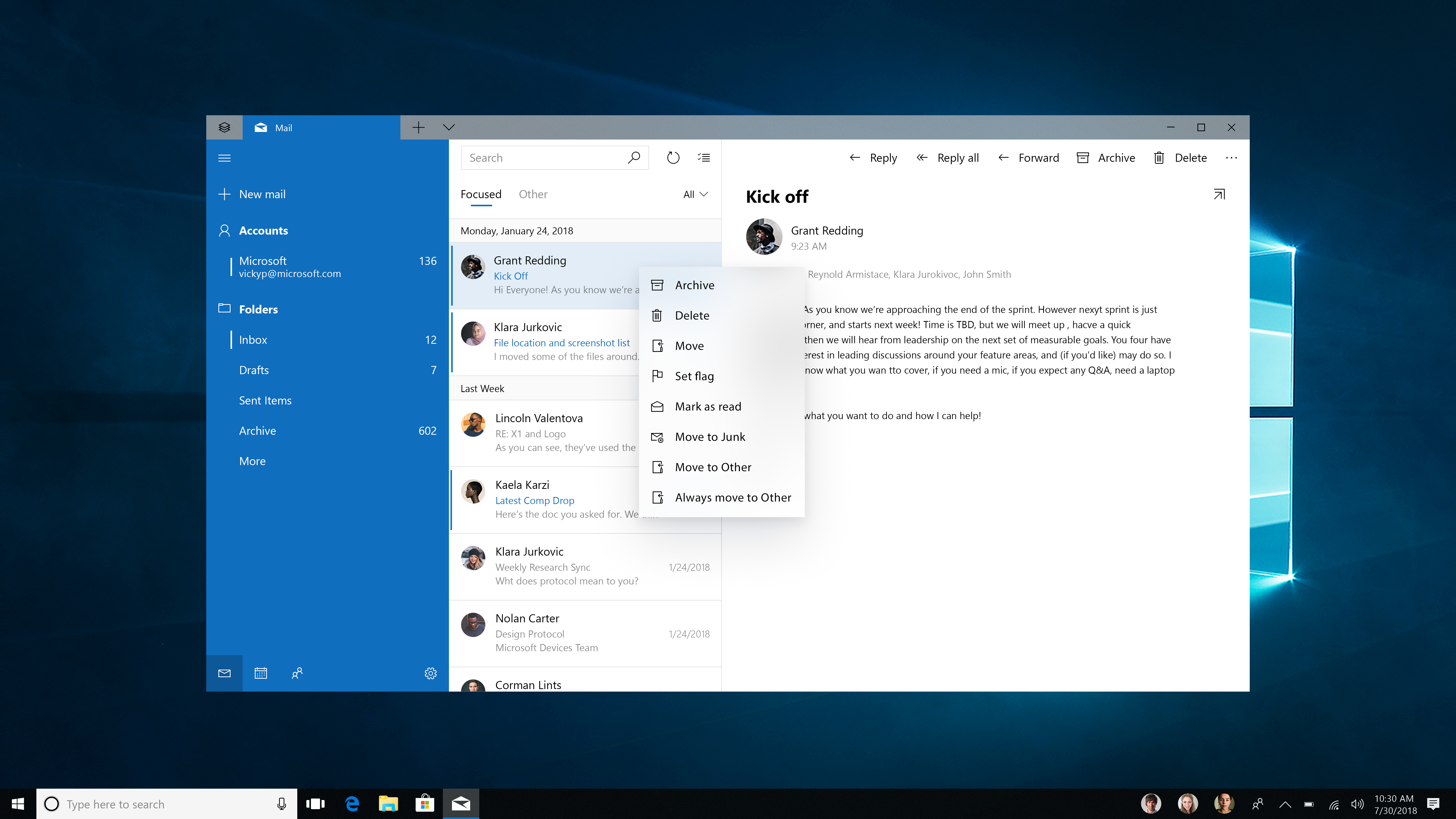Acrylic Material Uwp App Developer Microsoft Docs Switch Wiring Box 10 Mail Pattern Using An Informational Flyout