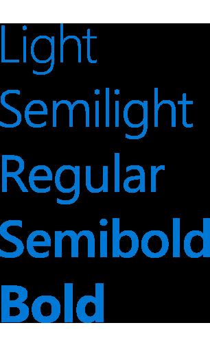typography uwp app developer microsoft docs