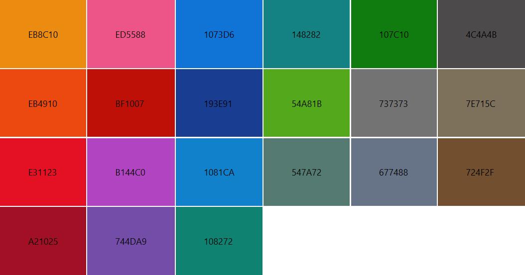 Color - UWP app developer | Microsoft Docs