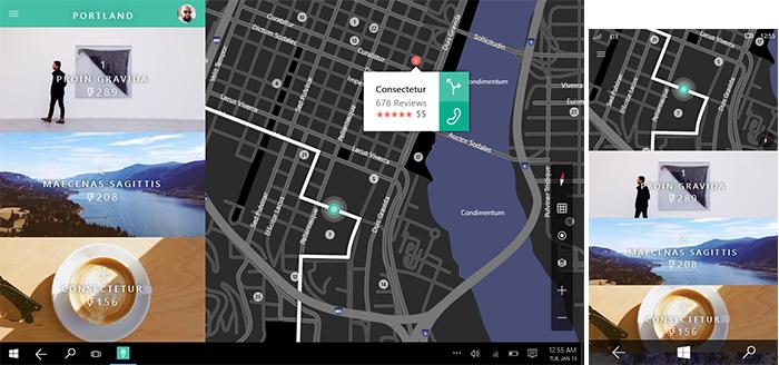 a design for a travel app