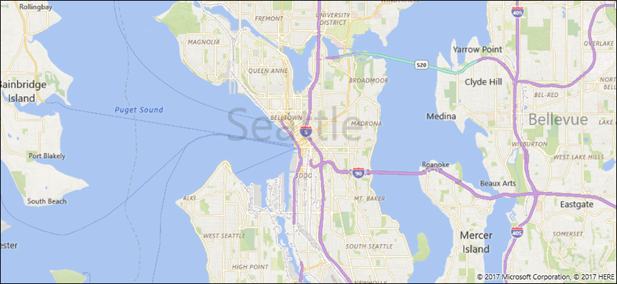 Display Maps With D D And Streetside Views UWP App Developer - Microsoft satellite maps
