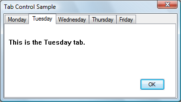 About Tab Controls - Windows applications | Microsoft Docs