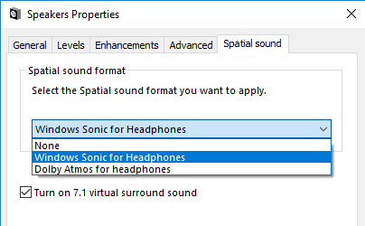 Spatial Sound - Windows applications | Microsoft Docs