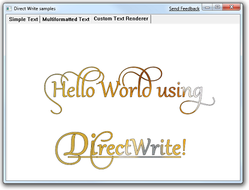 Text Rendering with Direct2D and DirectWrite - Windows applications
