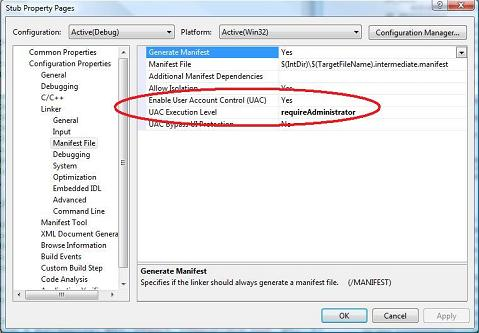 User Account Control for Game Developers - Windows