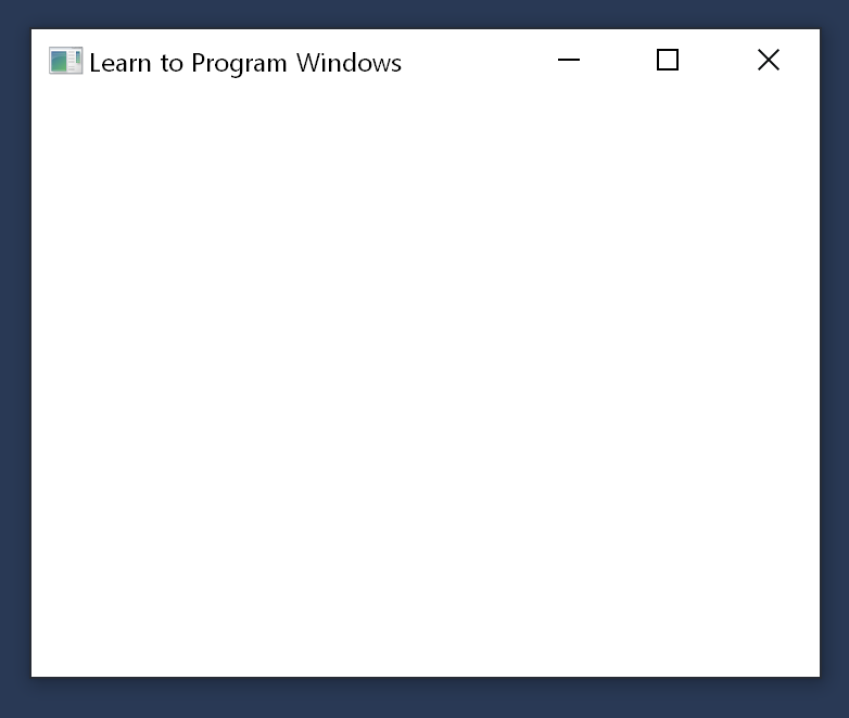 Module 1  Your First Windows Program - Windows applications