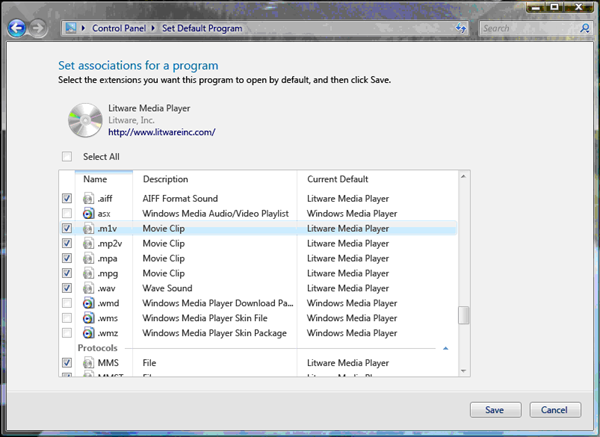 Default Programs - Windows applications | Microsoft Docs