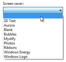 Drop-down Lists Combo Boxes - Windows applications