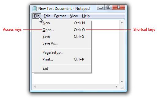 Keyboard Microsoft Docs