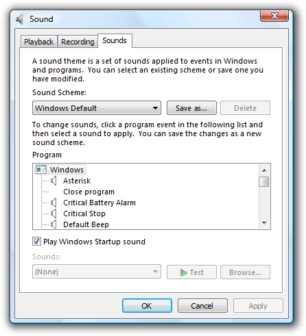 Sound - Windows applications | Microsoft Docs