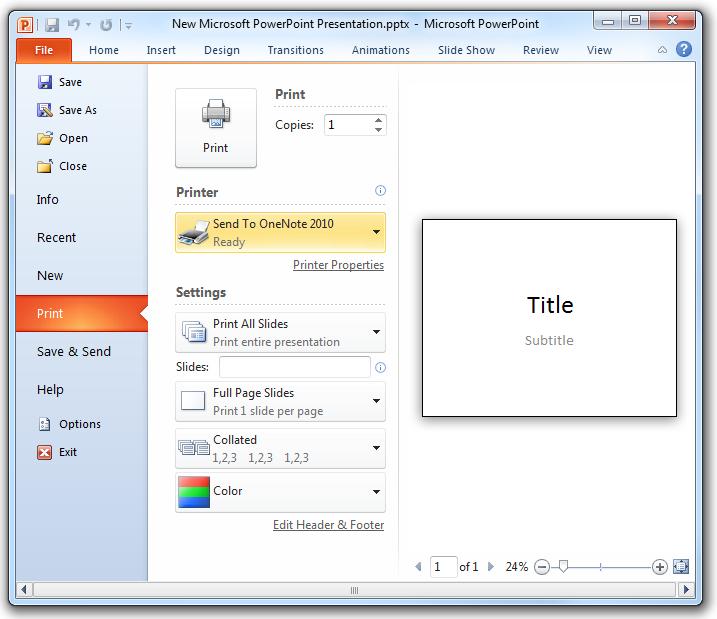 no microsoft print to pdf option