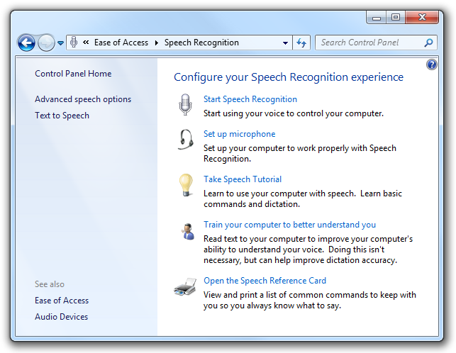 Open control panel items from command prompt | New Vista
