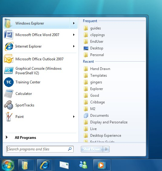 The Desktop Experience - Windows applications | Microsoft Docs