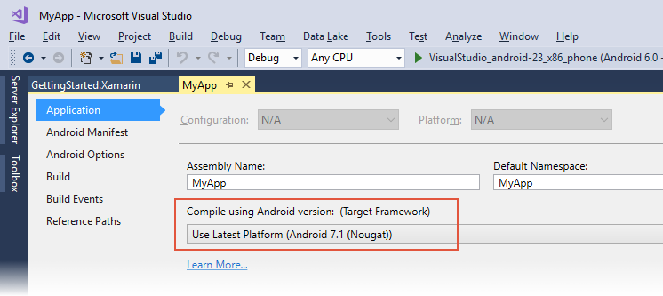 Understanding Android API Levels - Xamarin | Microsoft Docs