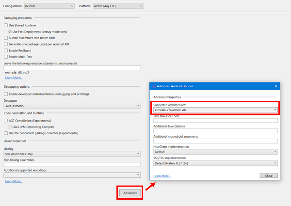 Cpu Architectures Xamarin Microsoft Docs