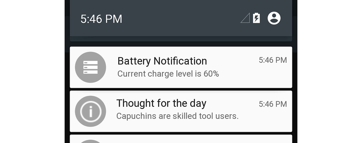 Local Notifications on Android - Xamarin   Microsoft Docs
