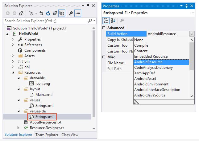 Android Resource Basics - Xamarin | Microsoft Docs