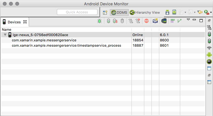 Running Android Services in Remote Processes - Xamarin