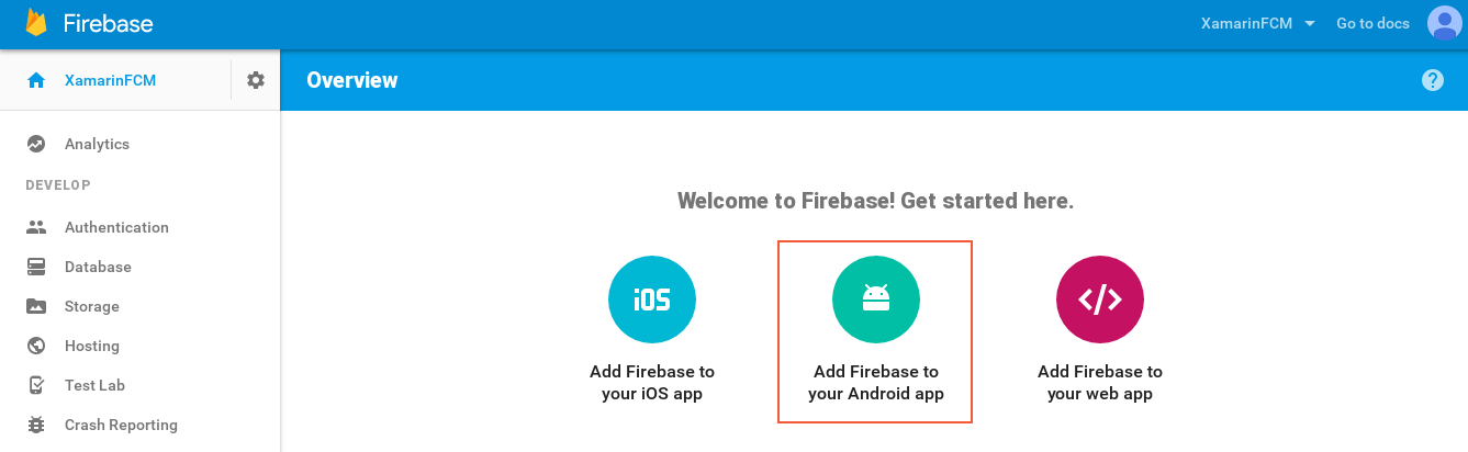 Firebase Cloud Messaging - Xamarin | Microsoft Docs