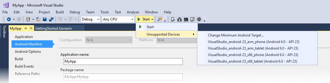 Debugging on the Android Emulator - Xamarin   Microsoft Docs