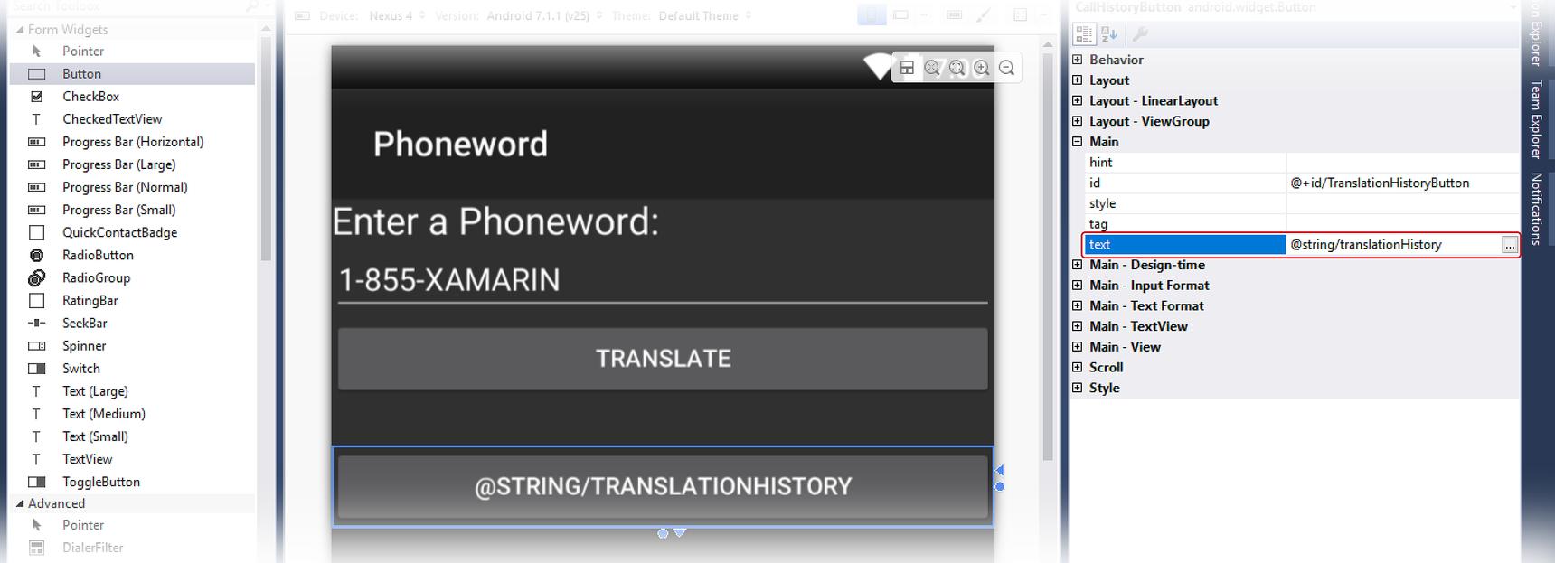 Hello, Android Multiscreen: Quickstart - Xamarin | Microsoft