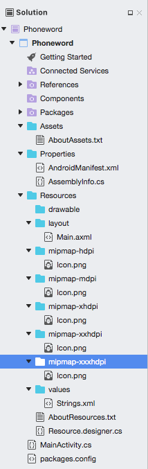 Hello Android Deep Dive Xamarin Microsoft Docs