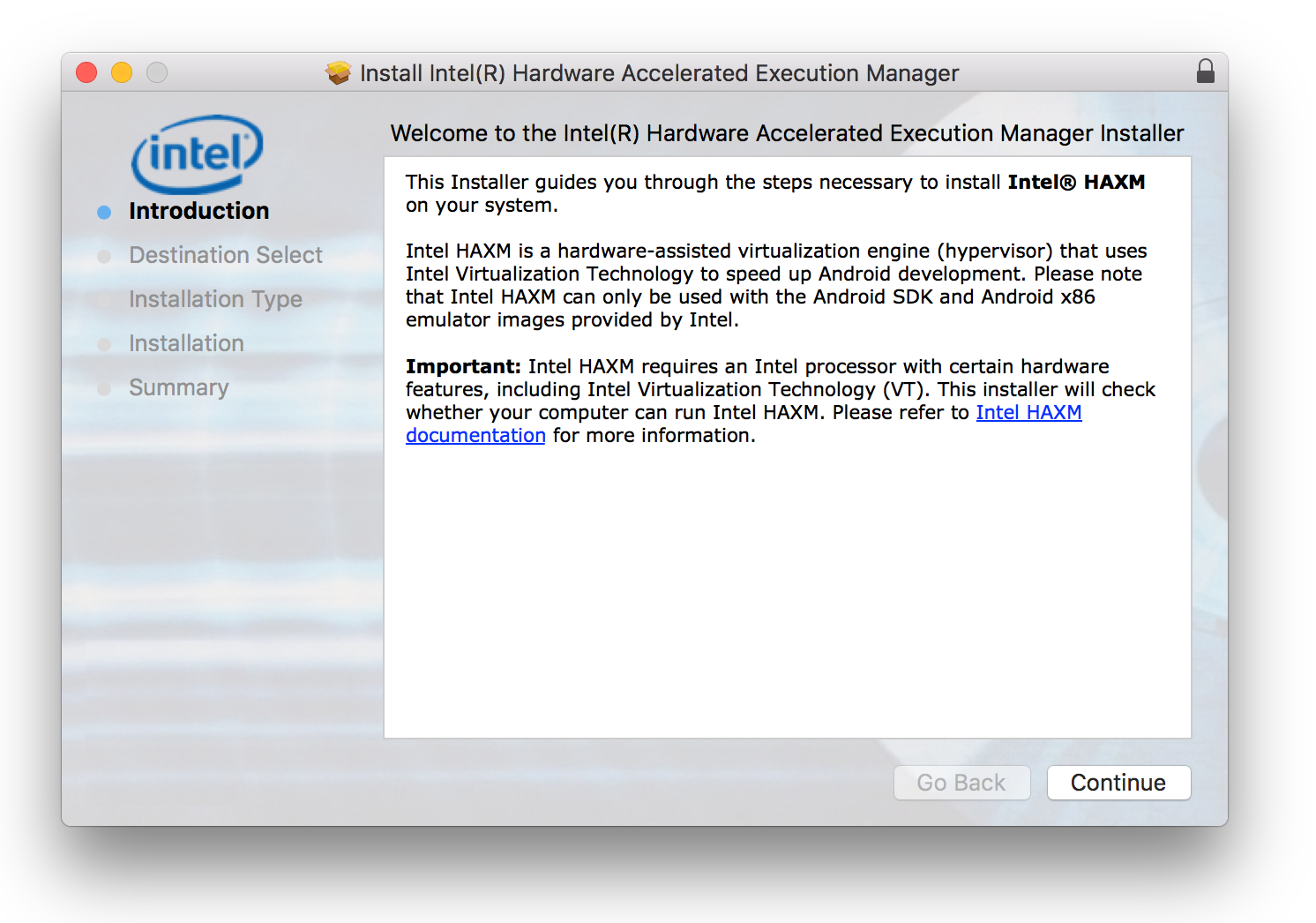 Hardware Acceleration for Emulator Performance (Hyper-V & HAXM