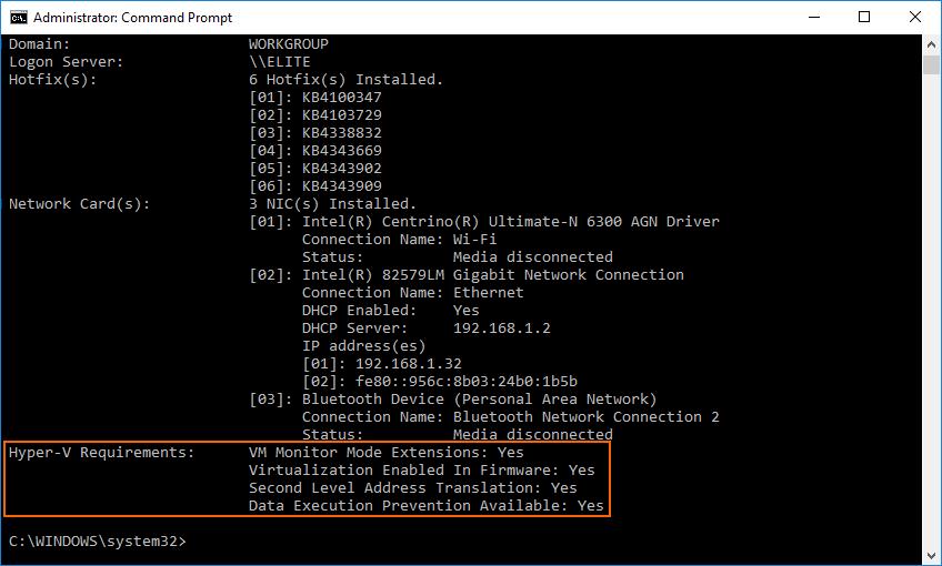 Hardware Acceleration for Emulator Performance (Hyper-V & HAXM