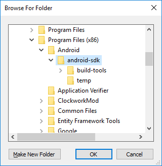 Setting up the Android SDK for Xamarin Android - Xamarin