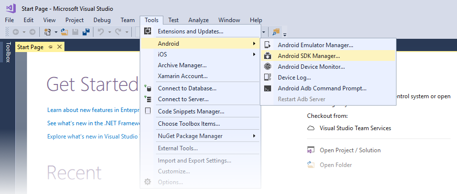 Windows Installation - Xamarin | Microsoft Docs