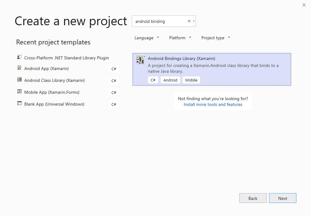 Binding an  AAR - Xamarin   Microsoft Docs