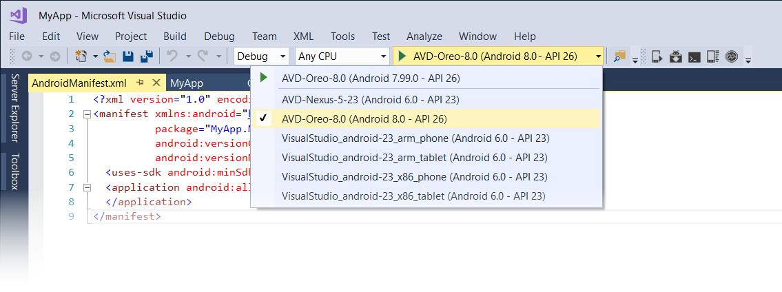 Oreo Features - Xamarin | Microsoft Docs