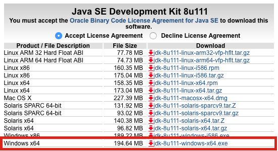 How do I update the Java Development Kit (JDK) version