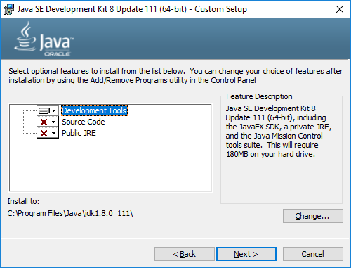 How do I update the Java Development Kit (JDK) version? - Xamarin