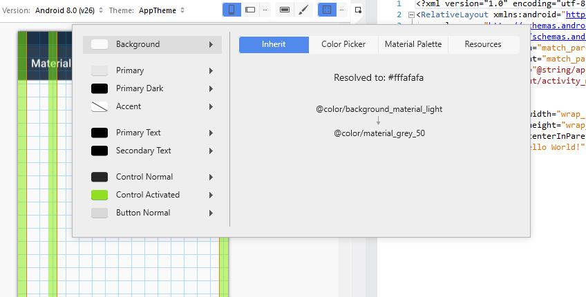Xamarin Android Designer Material Design Features - Xamarin