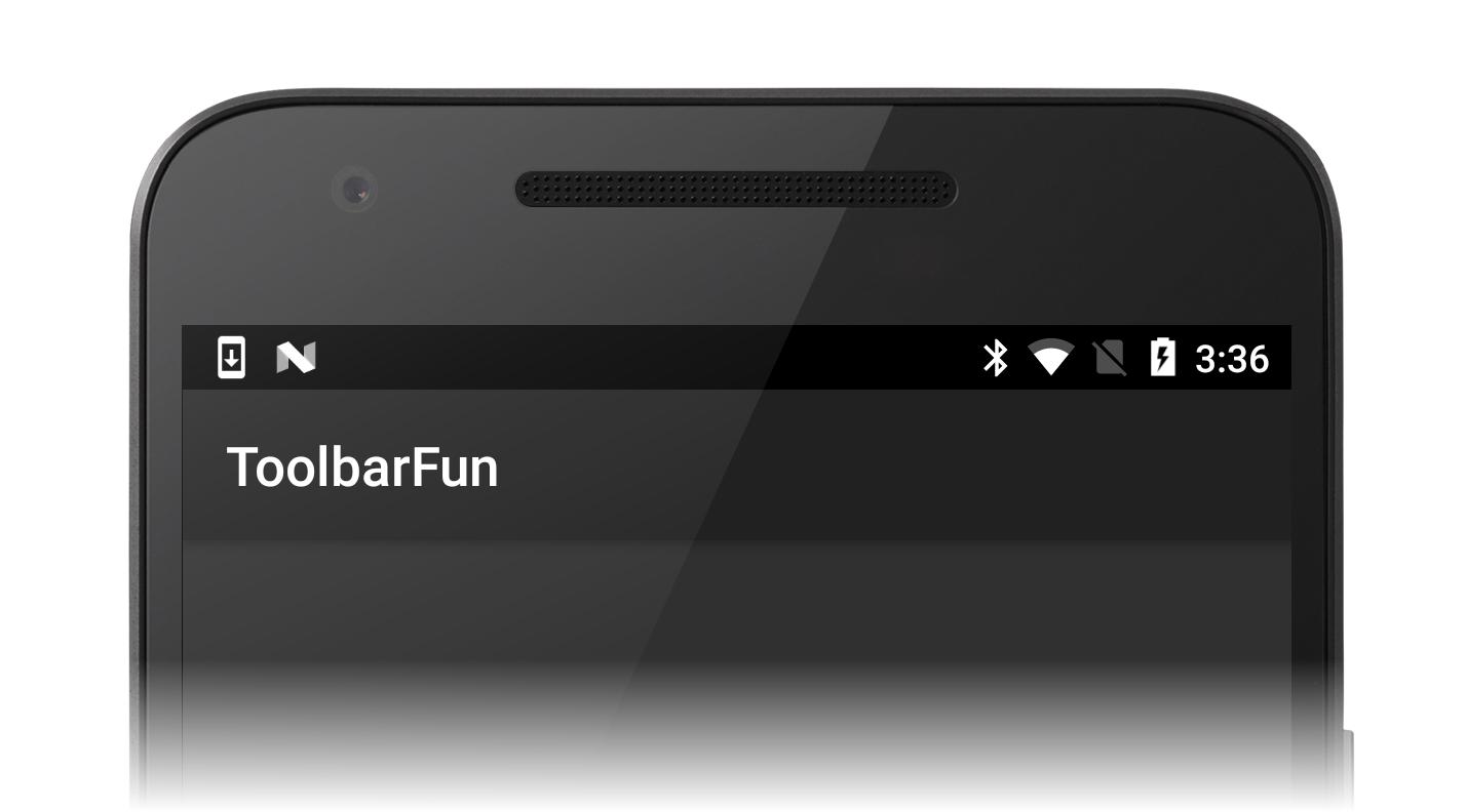 Replacing the Action Bar - Xamarin | Microsoft Docs