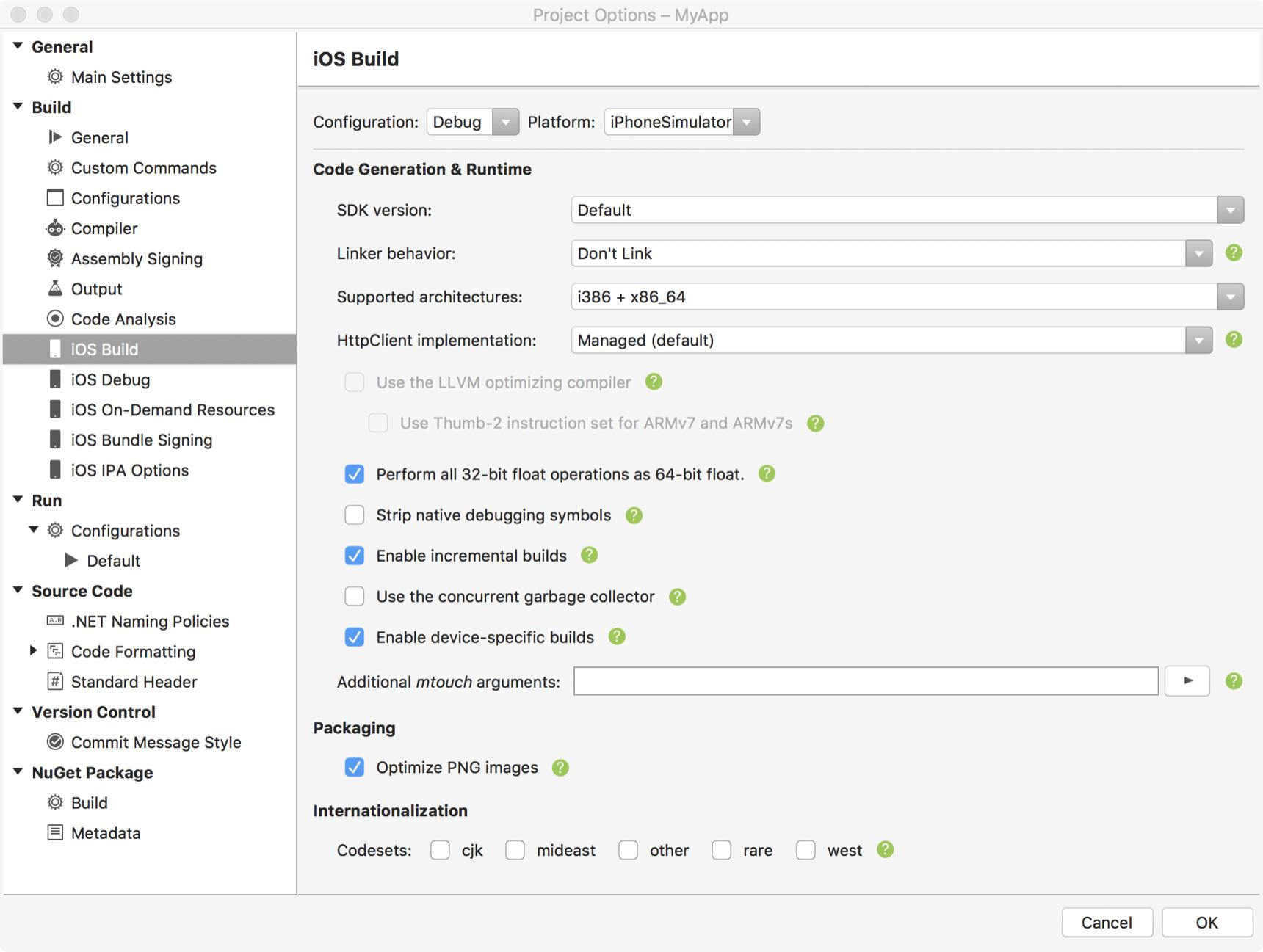 32/64-bit platform considerations - Xamarin | Microsoft Docs