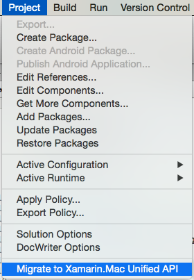Updating Existing Mac Apps - Xamarin | Microsoft Docs