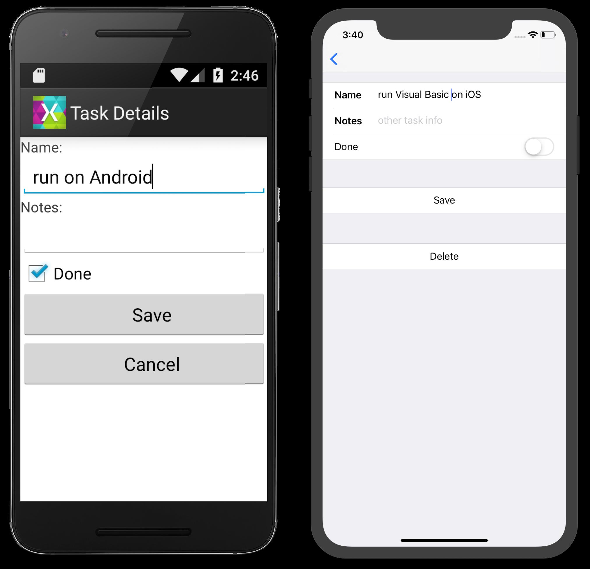 Visual Basic in Xamarin Android and Xamarin iOS - Xamarin