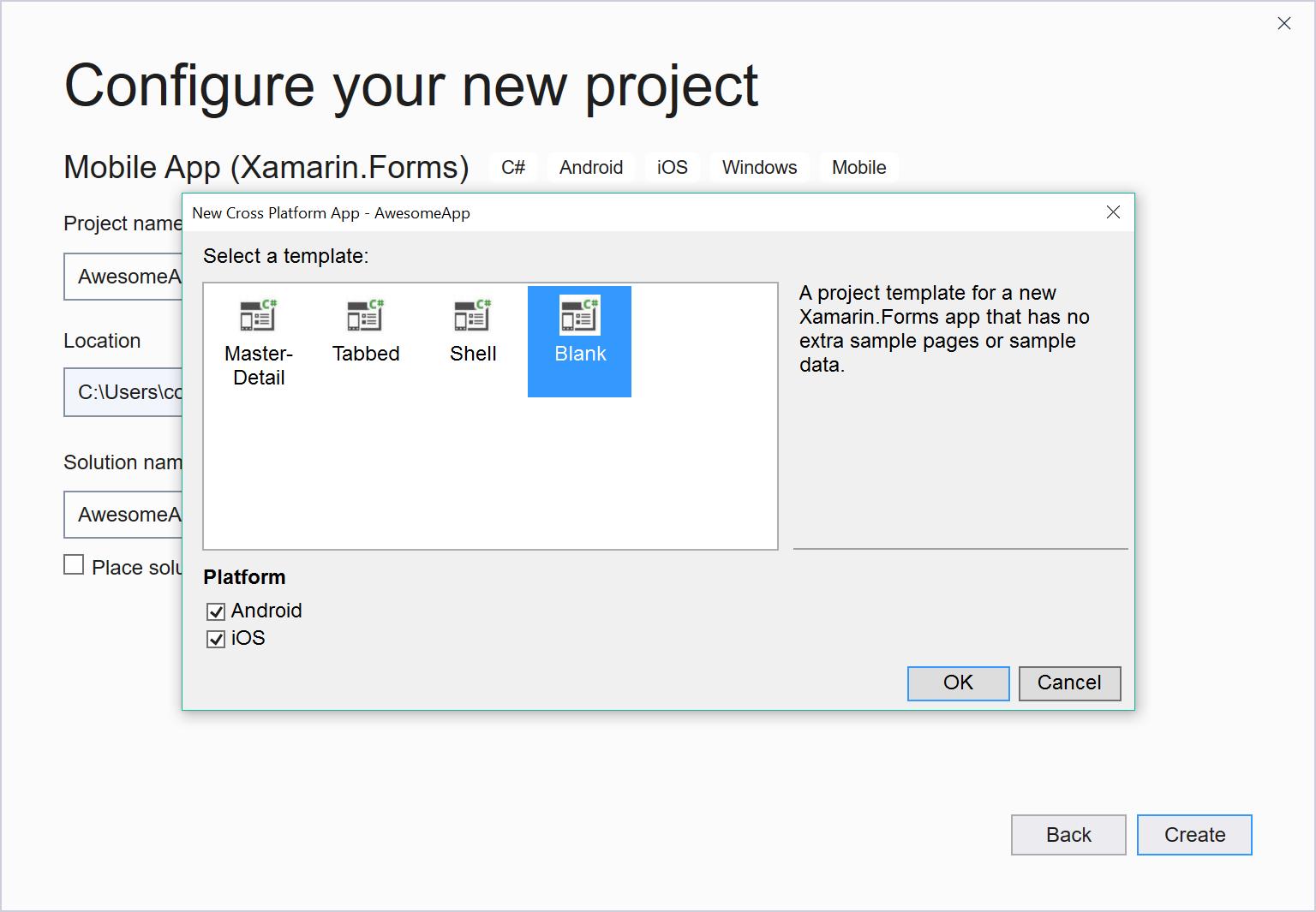 Build your first Xamarin Forms app - Xamarin | Microsoft Docs