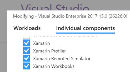 Uninstalling Xamarin - Xamarin   Microsoft Docs