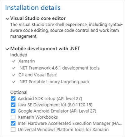 Installing Xamarin in Visual Studio 2019 - Xamarin | Microsoft Docs