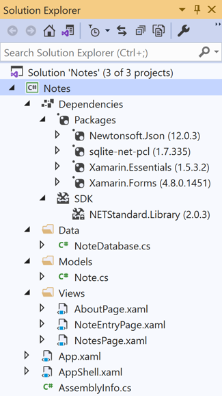 Xamarin Forms Quickstart Deep Dive - Xamarin | Microsoft Docs