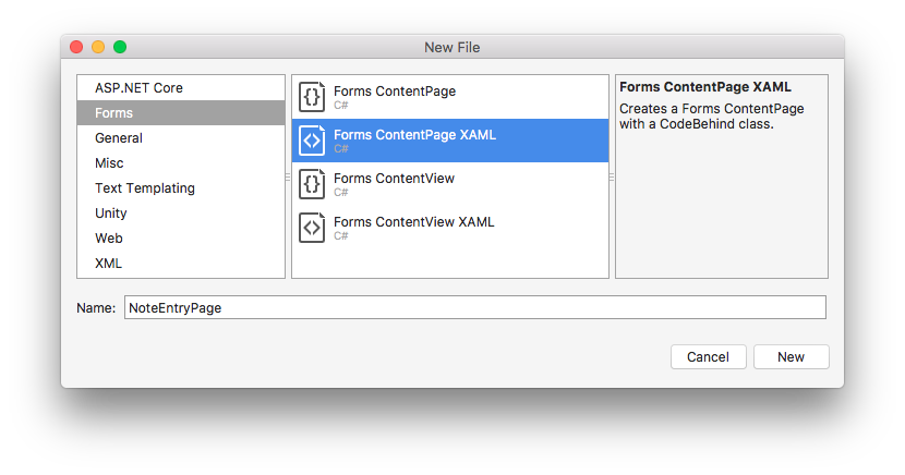 Perform navigation in a multi-page Xamarin Forms application